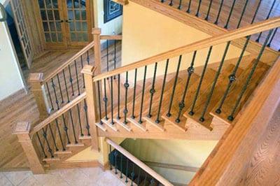 Перила и поручни для лестниц