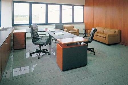 Керамогранит для пола в офисе