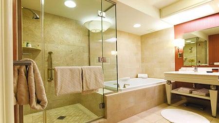 Дизайн освещения ванной