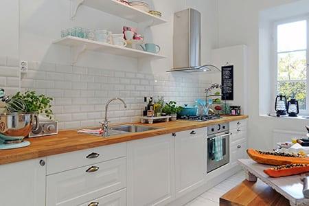 Рассчитываем расположение облицовки кухонного фартука