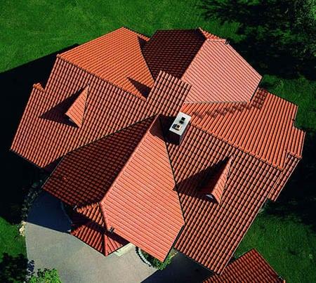 Крестообразная крыша