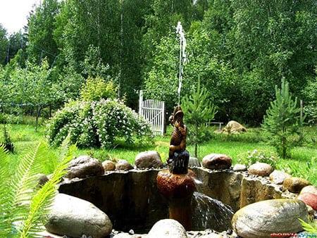 Строительство фонтанов на участке