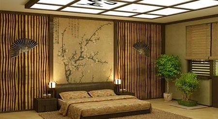 Использование бамбуковых обоев и уход за ними