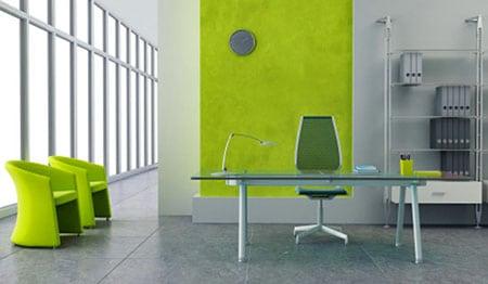 Покраска стен в офисе