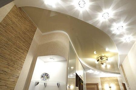 Использование потолочных светильников
