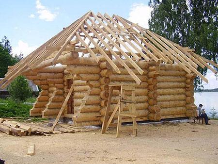 Деревянная баня: строительство своими руками